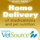 VetSource Home Delivery of medications and pet nutrition